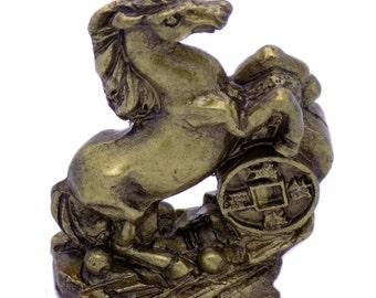 Amazing Cute Horse of Polyresin Decorative Figurine Souvenir Statuette Home Decor Collectible Perfect Gift
