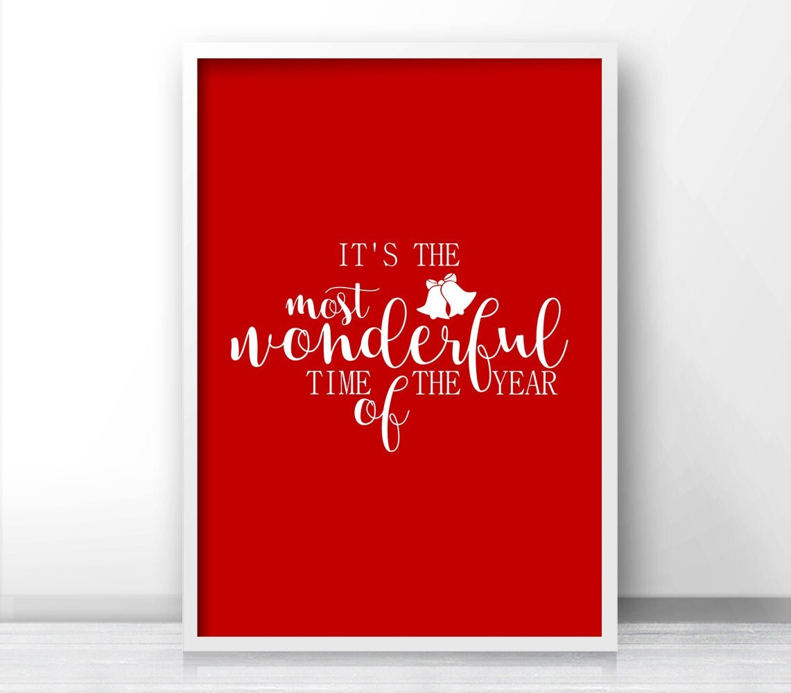 Instant Download Christmas Wall Art Christmas Print Holiday
