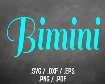 Bimini Sail Font Design Files, Silhouette Studio, Cricut Design, Brother Scan Cut, Scal, DXF File, SVG Font, EPS Files, Svg File, Curly Font
