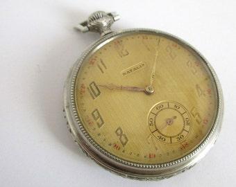 Vintage Mechanical Pocket Watch NATALIS