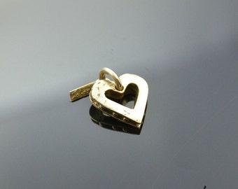 Pendant Heart Bronze