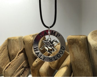 Percy Jackson Necklace Camp Half Blood Fly Horse Necklace New Movie jewelry nekclace Camp Half Blood Fly Horse pendant