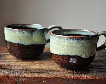 Set of Ceramic Caffe Mugs