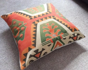 Aztec/Tribal/Geometric/Ethnic Cotton Linen Floor Cushion Cover 26 x 26""