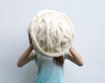 Giant Merino wool Yarn &Roving Super Bulky Chunky giant knitting  huge knit roving giant roving wool knitting yarn huge knitting