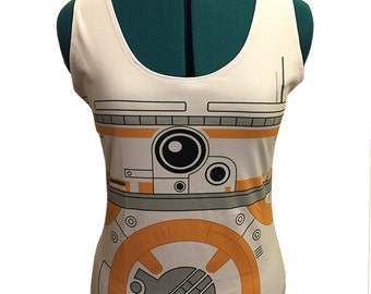Star Wars BB8 Inspired Tank Top