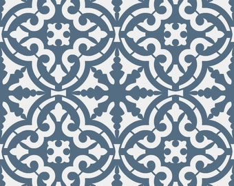 Reusable Stencil Moroccan Style Tile Allover Pattern. SKU: S0120