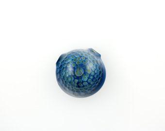 Hollow Honeycomb Glass Pendant