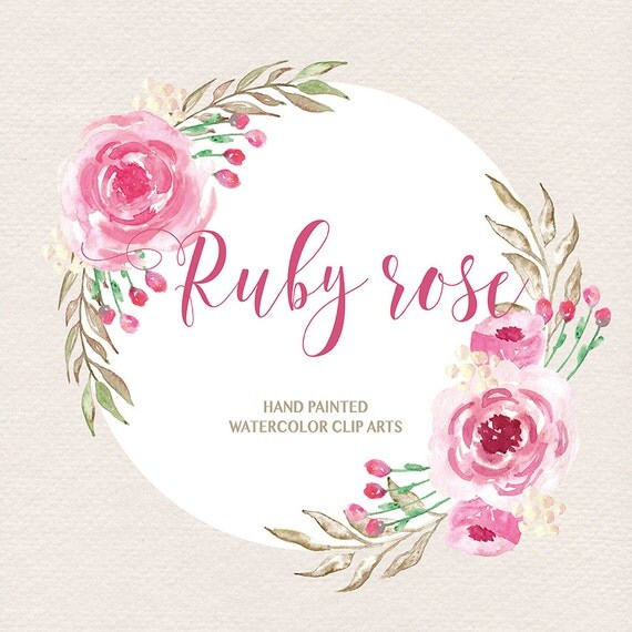 Clip Art Pictures Of Ruby Flowers 111