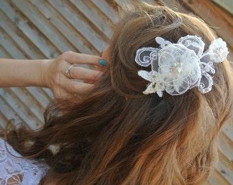 Lace Bridal Hair Comb