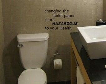 Change Toilet Paper Etsy
