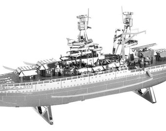 USS Arizona Ship Model Military Metal Earth 3D Metal Model Kit