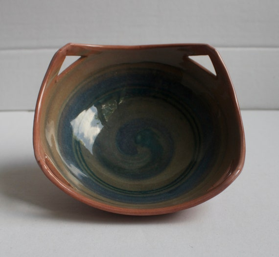 Lilian's Collection Handmade  Pottery Bowl, Ceramic Bowl, Pottery Bowl, Terracotta Bowl, Snack Bowl, Mom's Collection Handmade Stoneware Art