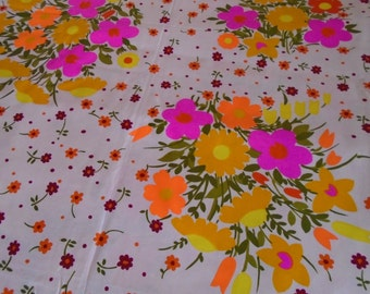 Trye Vintage Cotton Fabric - by the Half Yard
