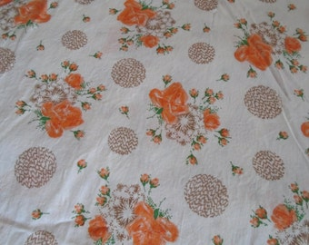 True Vintage Fabric Yardage, by the Half Yard