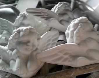 5 x 3.5 cm 10 PCs scented chalk angels, birth, communion favors