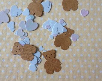 Brown Bear Party Confetti