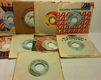 Ray Anthony 45 rpm Record Collection (9 records)