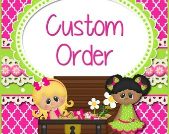 Custom Order for Shincetta