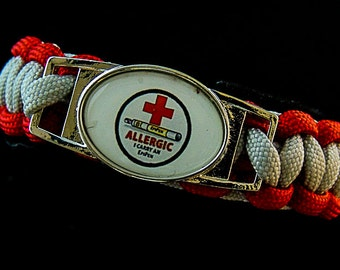 EpiPen MEDICAL ID   paracord bracelet