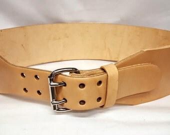 Leather Weight Belt Etsy