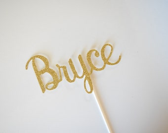 Personalized Cake Topper, Name Cake Topper, Birthday Cake Topper, Baby Shower Cake Topper