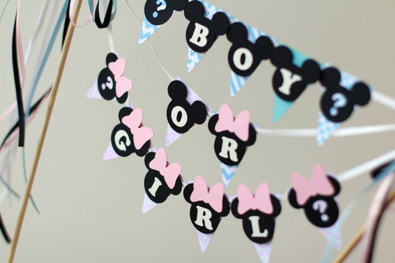 baby shower decorations baby mickey mouse boy baby minnie. Black Bedroom Furniture Sets. Home Design Ideas