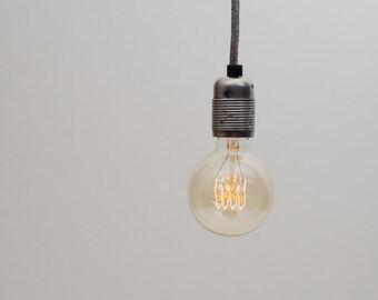 Large Globe Quad Loop Filament Vintage Edison Light Bulb | E27 es screw | 40w