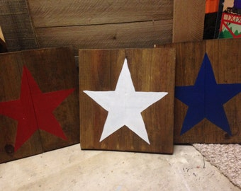 Red, White & Blue Patriotic Wall Decor