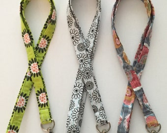 Fabric Lanyard Teacher Office Key ID Lanyard