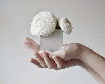 CUBUS | Concrete Plant Pot - Tealight Holder - set of 3