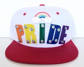 Rainbow Pride Snapback