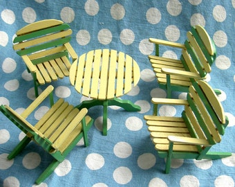 craft (popsycle) stick doll furniture