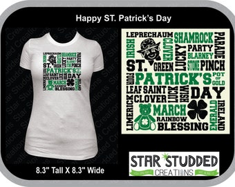 Happy St. Patrick's Day Adults from Small - 3X
