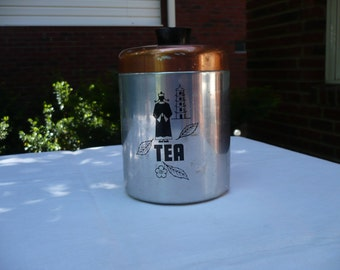 Hawthorne Tea Canister Aluminum