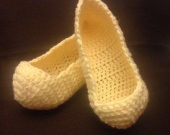 Hand made womens slippers