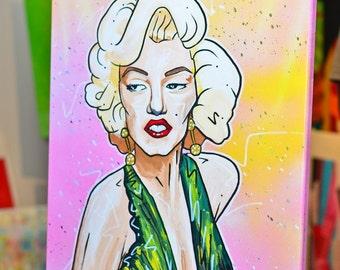 MARILYN Original Artwork