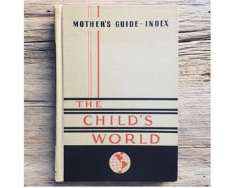 Mid Century Modern Book from the 1950s - Instructional Guide to Motherhood