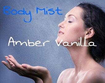 2 oz - Amber Vanilla Body Mist
