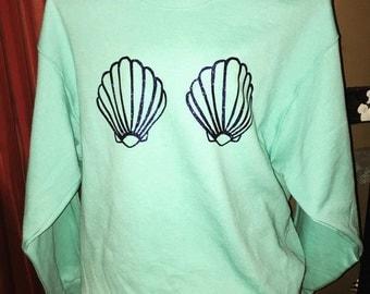 Mermaid Shell Sweatshirt