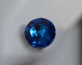 Swarovski Capri crystal earrings on titanium posts! Great for sensitive ears! You choose~  Capri blue, Metallic sunshine, or Pacific Opal