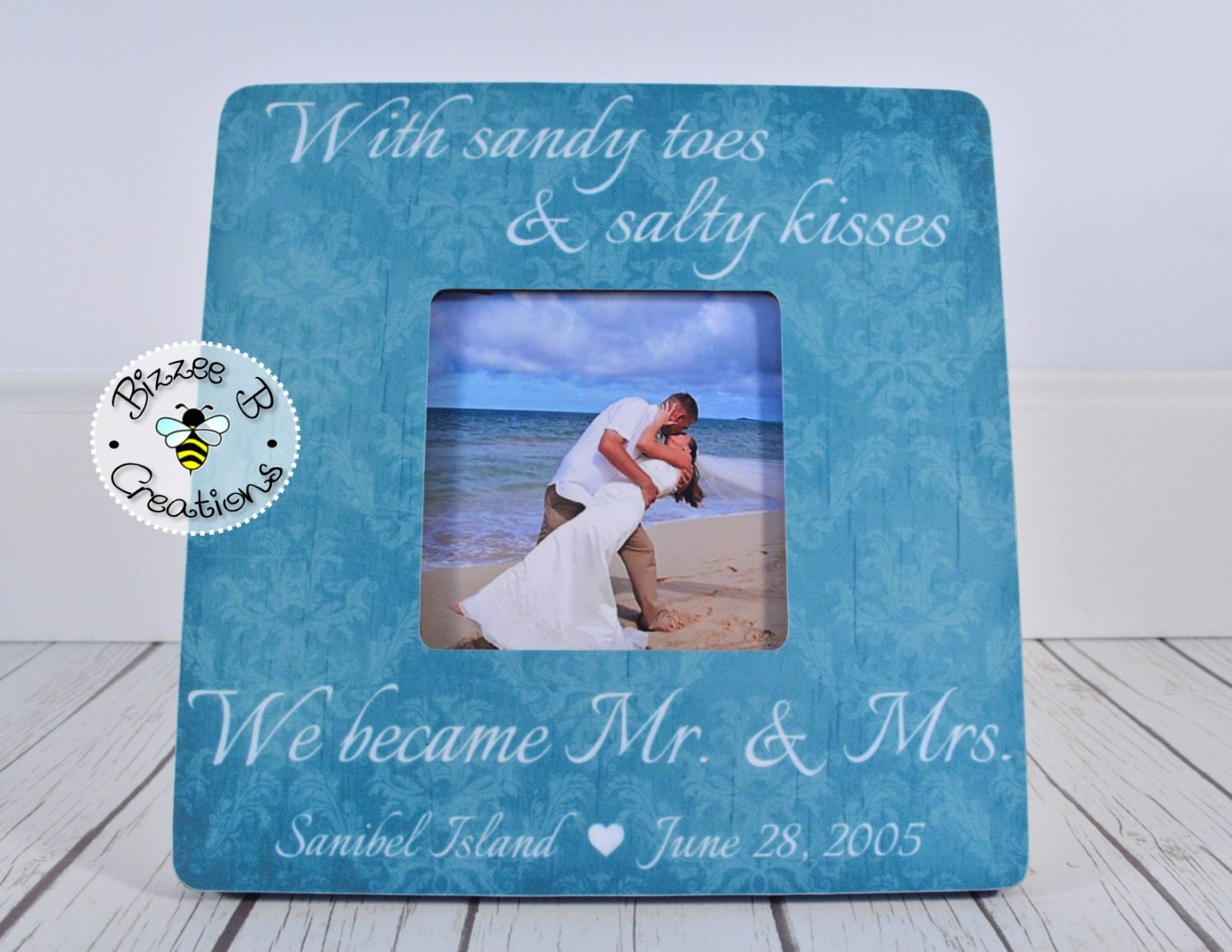 Personalized Wedding Gift For Mr Amp Mrs Beach By BizzeeBCreations