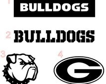 Georgia Bulldogs Inspired Yeti Decal, Georgia Bulldogs Inspired Car Decal, Georgia Bulldogs Inspired Decal,Georgia Bulldogs Inspired Phone