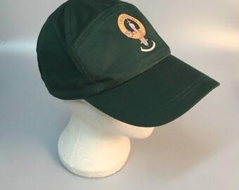 Bell clan crest baseball cap, green