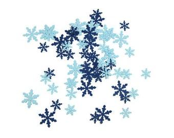 Snowflake Paper Confetti You Choose the Colors