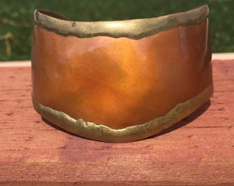 Copper & Brass Handmade Cuff Bracelet