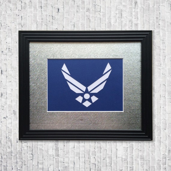 Handcut AirForce Wall Decor Airforce Service Art Military