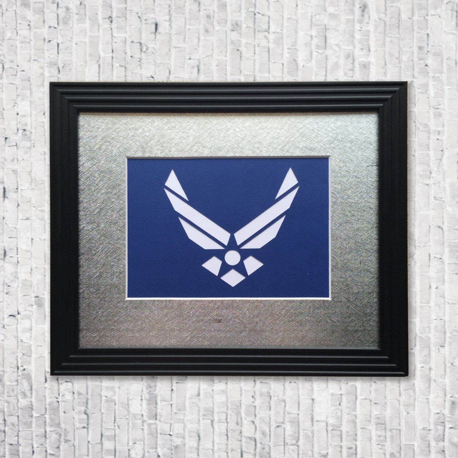 Usaf Wall Decor : Handcut airforce wall decor service art military