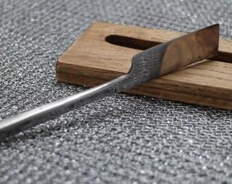 Modern Forged Kamisori Straight Razor Japanese Symmetrical Flat Grind