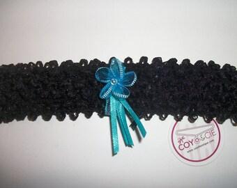 Black headband for girl